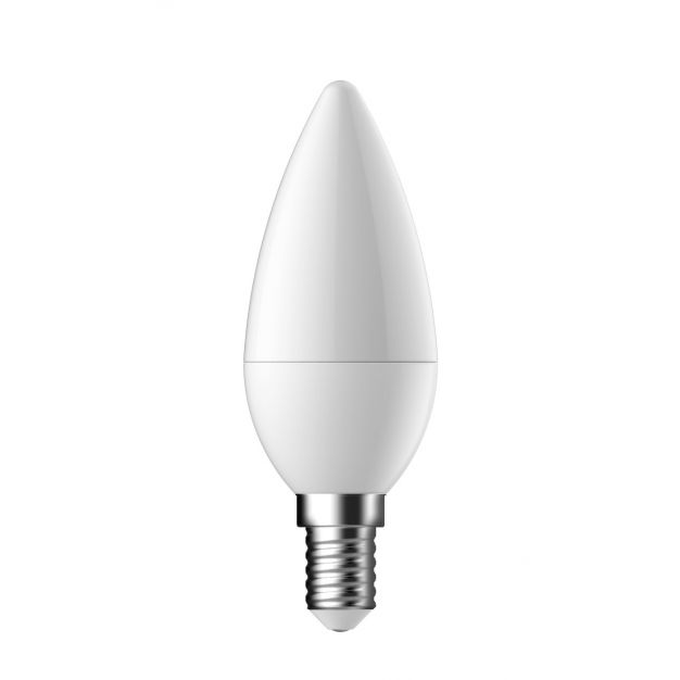 LED-lamp - E14 - 3,5W - warm wit (stockopruiming)