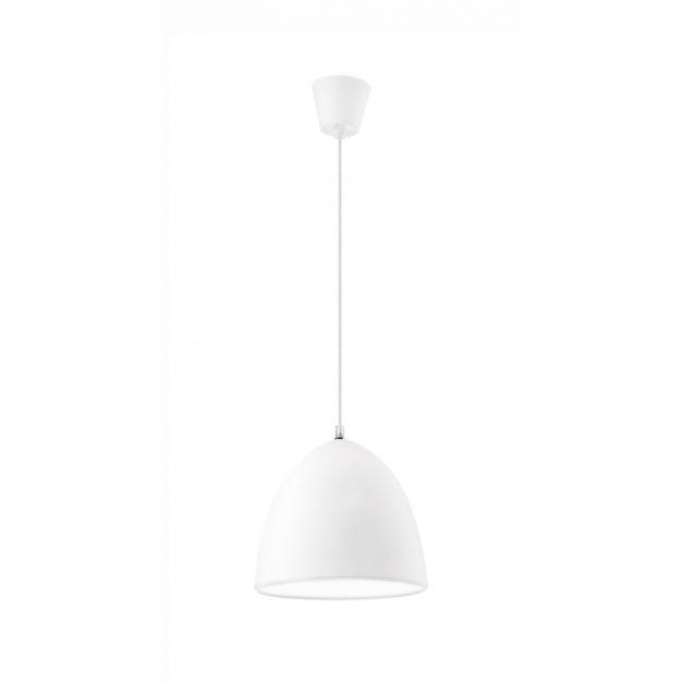 Nova Luce Colori - hanglamp - Ø 22 x 120 cm - wit