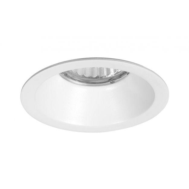 Nova Luce Raena - inbouwspot - Ø 82 mm, Ø 75 mm inbouwmaat - wit