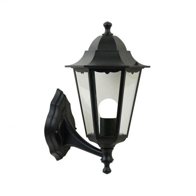 Nordlux Cardiff - buiten wandverlichting - 22,5 x 40 x 27 cm - IP44 - zwart