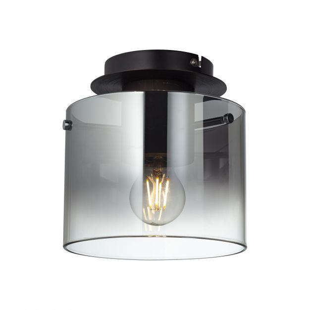 Brilliant Beth - plafondverlichting - Ø 20 x 21 cm - koffie