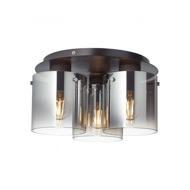 Brilliant Beth - plafondverlichting - Ø 35 x 21 cm - zwart