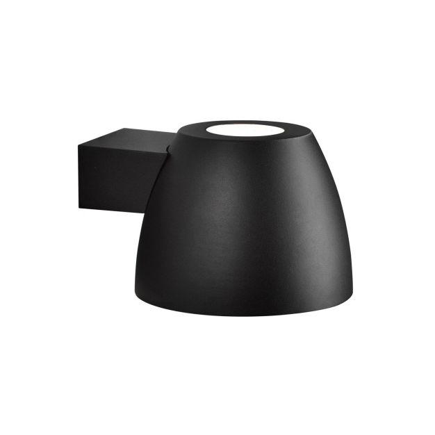 Nordlux Bell - buiten wandverlichting - 20 x 15 x 24,5 cm - IP44 - zwart