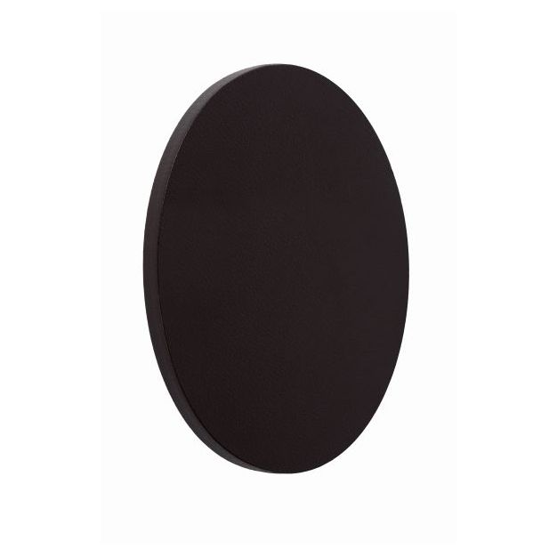 Lucide Glimpse - wandverlichting - Ø 14 x 3,6 cm - 5W LED incl. - zwart