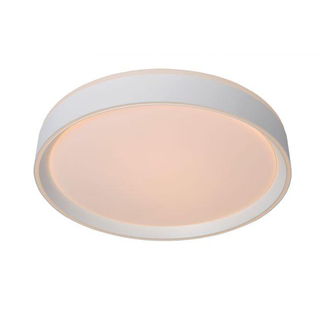 Lucide Nuria - plafondverlichting - Ø 30 x 7,5 cm - 18W LED incl. - 3 stappen dimbaar - wit