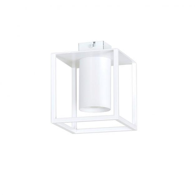 Emibig Tiper - plafondverlichting - 13 x 15 cm - wit