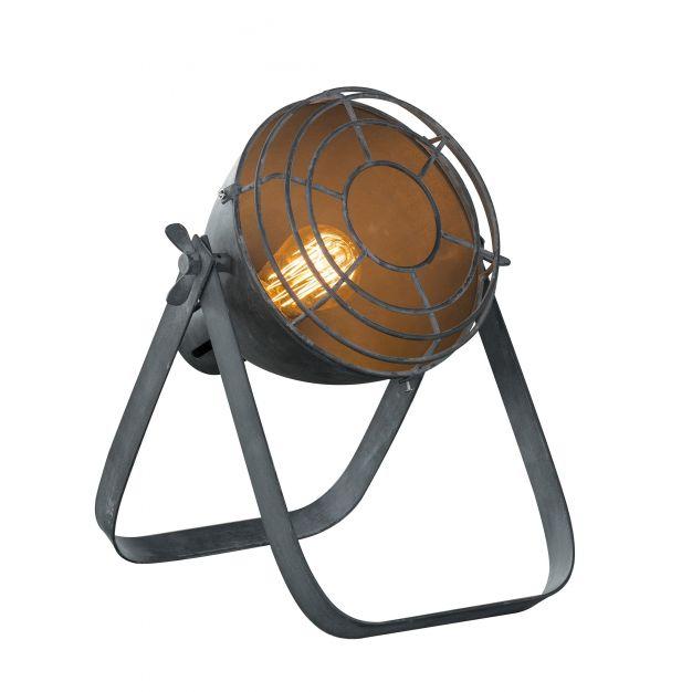 Vico Industry Raster - tafellamp - 60 cm - grijs