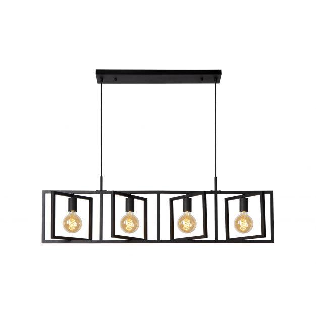 Lichtkoning Apollo - hanglamp - 112 x 7 x 165 cm - zwart