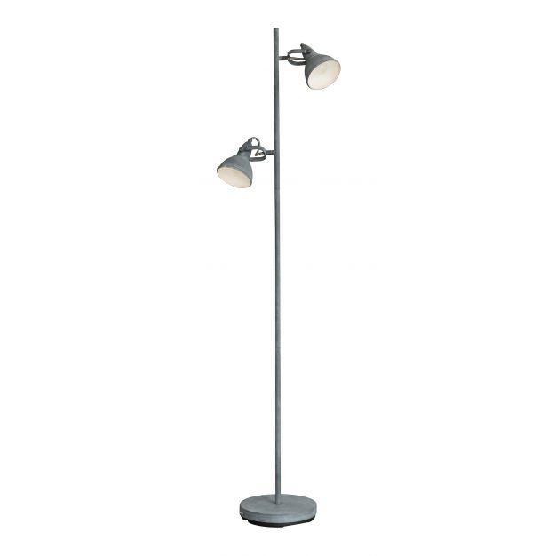 Vico Cup - staanlamp - 143 cm - betonlook