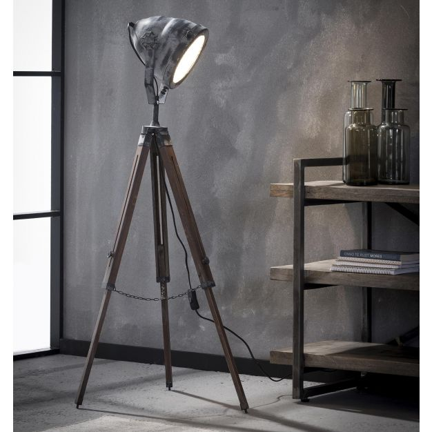 Vico Headlight - vloerlamp - 116 cm - betonlook