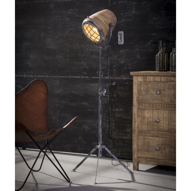 Vico Wood - staanlamp XL - 184 cm - mango hout