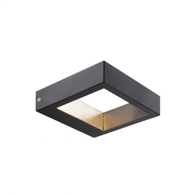 Nordlux Avon - buiten wandverlichting - 15 x 4 x 15 cm - 5W LED incl. - IP44 - zwart