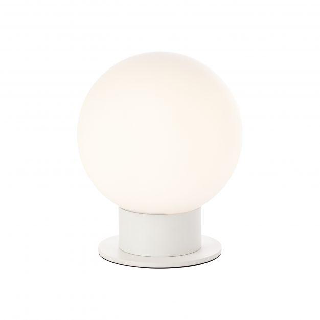 Brilliant Astro - tafellamp - Ø 20 x 24,5 cm - wit