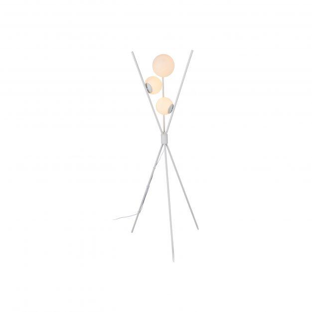 Brilliant Astro - staanlamp - Ø 80 x 170 cm - wit
