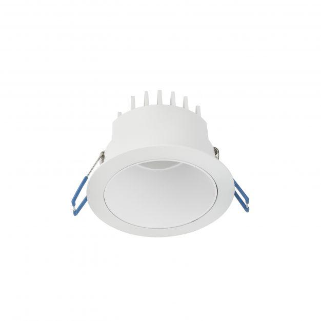 Nova Luce Carpo - inbouwspot - Ø 100 mm, Ø 90 mm inbouwmaat - 10W LED incl. - wit