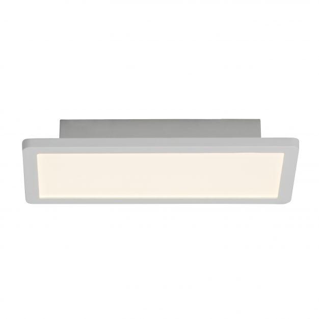 Brilliant Scope - plafondverlichting - 30 x 15 x 5 cm - 15W easydim LED incl. - mat wit