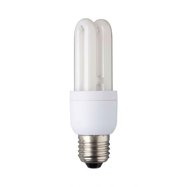Spaarlamp - E27 - 7W - warm wit (einde reeks)