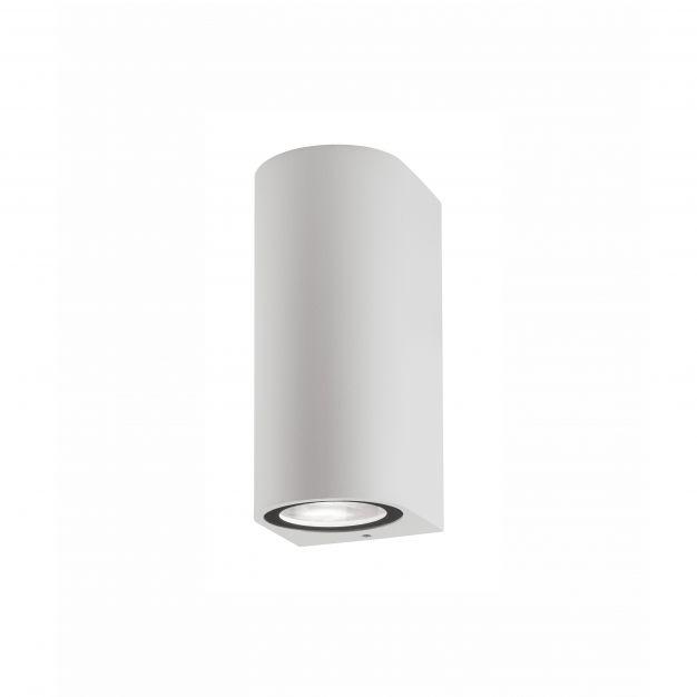 Nova Luce Nero - buiten wandverlichting - 7 x 8 x 15 cm - IP54 - wit