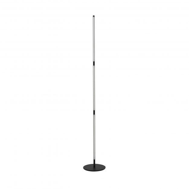 Nova Luce Handy - staanlamp - 171 cm - 25W LED incl. - zand zwart