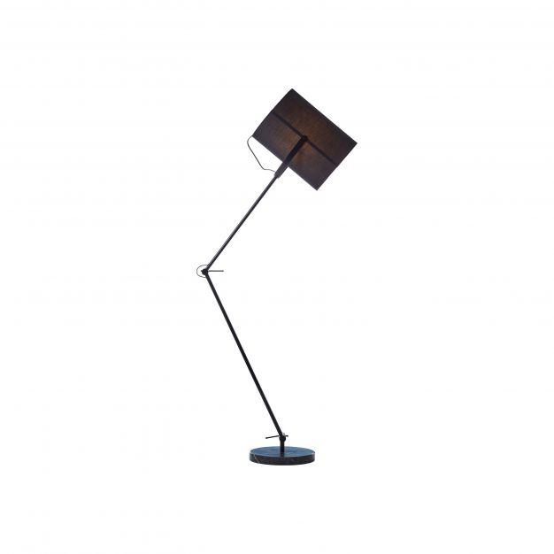 Brilliant Fidel - staanlamp - 29,5 x 38 x 190 cm - zwart