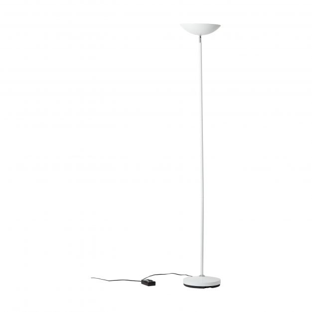 Brilliant Guernesey - staanlamp - Ø 28 x 175 cm - wit
