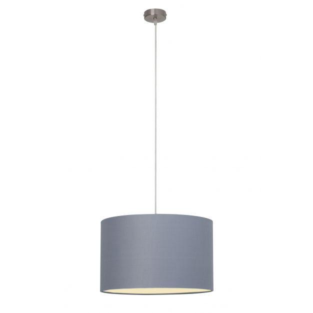Brilliant Clarie - hanglamp - Ø 40 x 100 cm - grijs