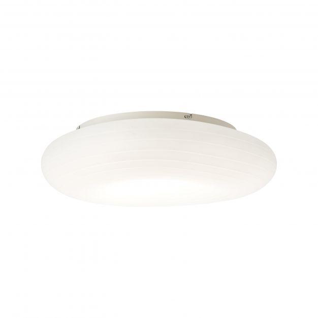 Brilliant Pebbles - plafondverlichting RGB met afstandsbediening - Ø 58 x 15,5 cm - 42W dimbare LED incl. - wit
