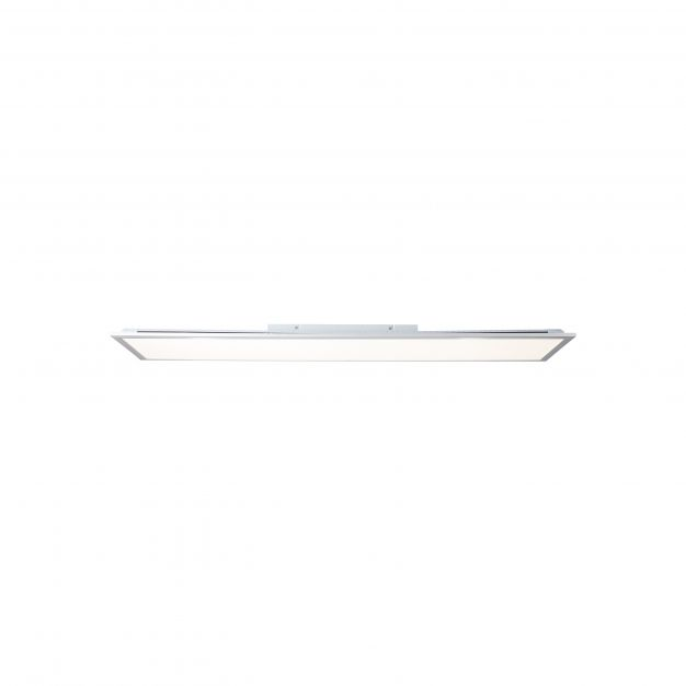 Brilliant Alissa - ledpaneel RGB met afstandsbediening - 119,5 x 29,5 x 5,3 cm - 42W dimbare LED incl. - wit
