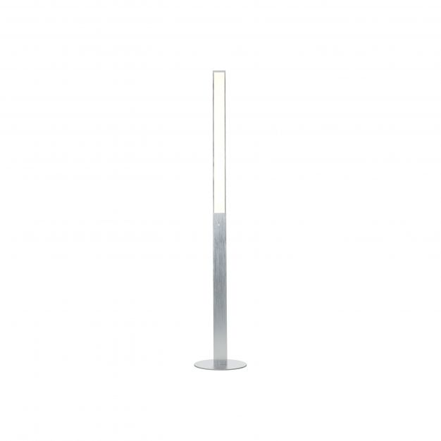 Brilliant Entrance - staanlamp - Ø 28 x 156 cm - 14W dimbare LED incl. - aluminium