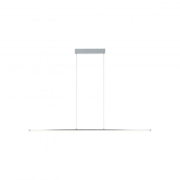 Brilliant Entrance - hanglamp - 120 x 7 x 131 cm - easyDim 22W LED incl. - wit en aluminium