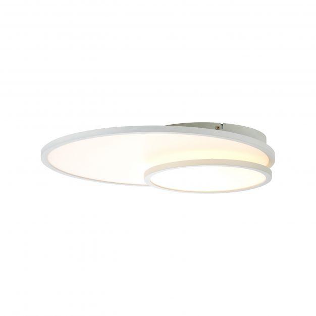 Brilliant Bility - plafondverlichting - 60,5 x 45 x 7,8 cm - 36W easyDim LED incl. - wit