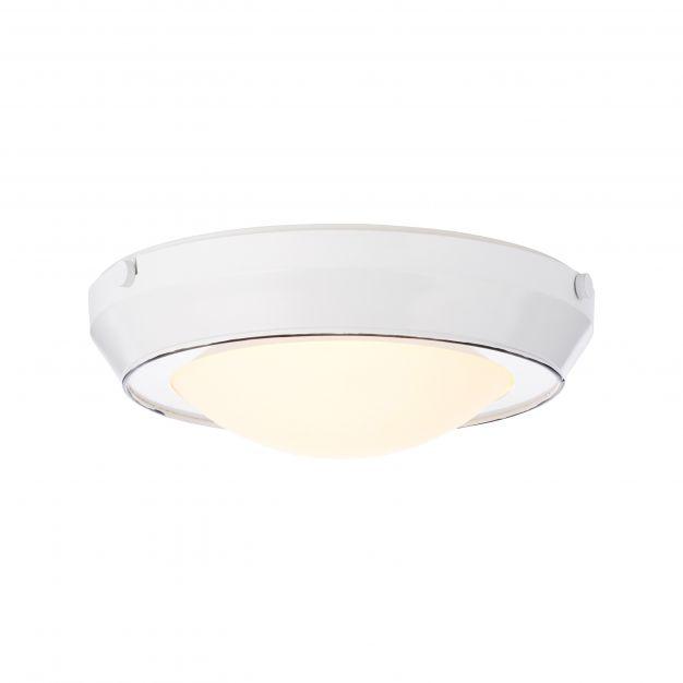 Brilliant Plains - plafondverlichting - Ø 33 x 10,5 cm - wit