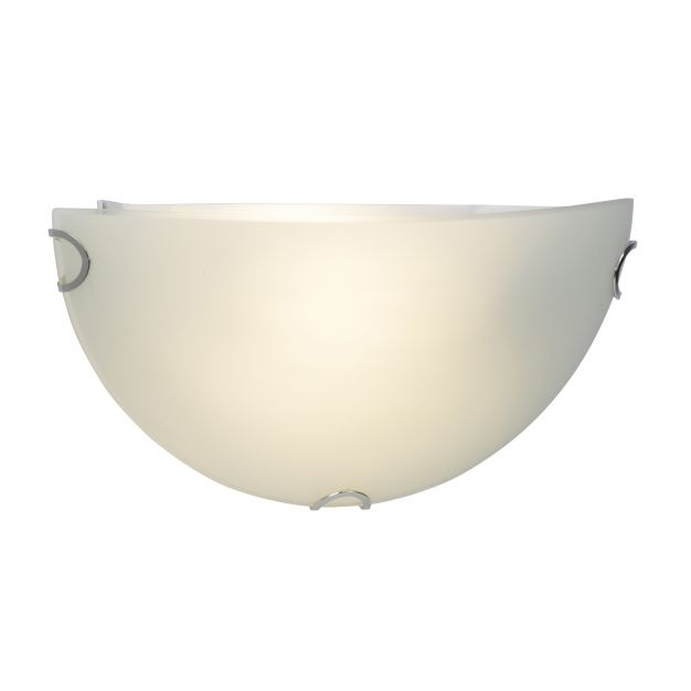 Brilliant Melania - wandverlichting - 31 x 10 x 15 cm - 9W LED incl. - mat glas
