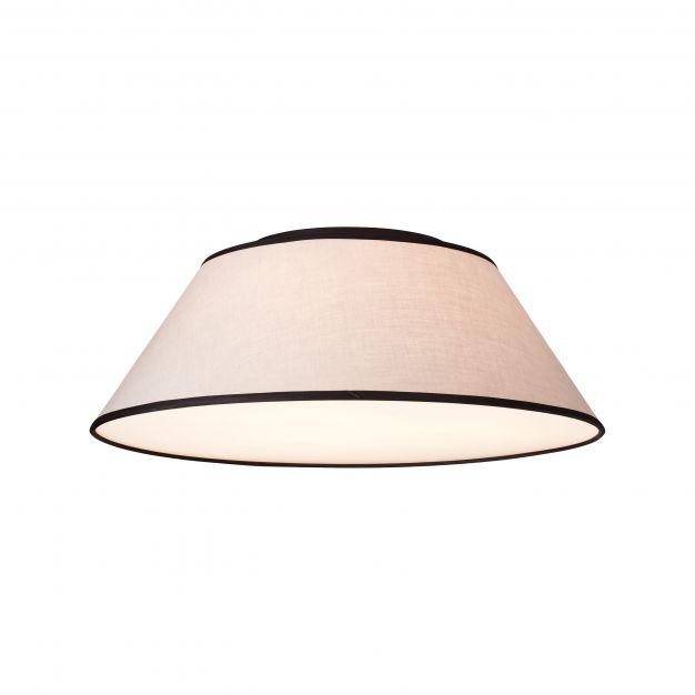Brilliant Amoa - plafondverlichting - Ø 60 x 20 cm - grijs