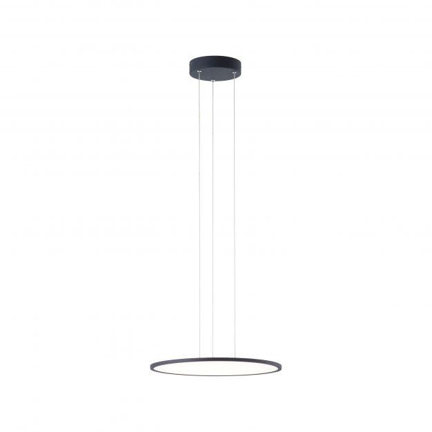 Brilliant Ceres - hanglamp - Ø 45 x 125 cm - 31W easyDim LED incl. - zwart