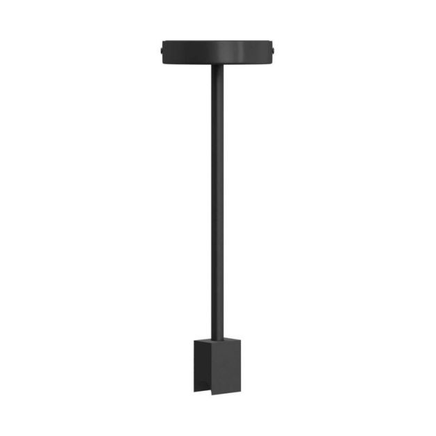 Creative Cables - plafondlamp - 12 x 12 x 37,5 cm - s14d - zwart