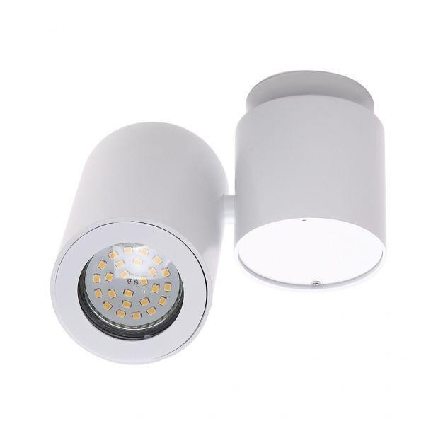Maxlight Barro - opbouwspot 1L - 15 cm - wit