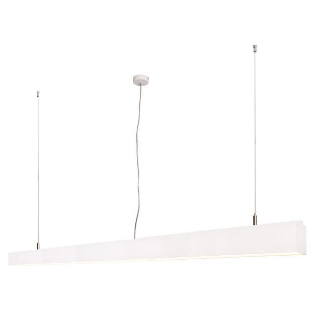 Lichtkoning Linear - hanglamp - 170 x 5 x 200 cm - 54W LED incl. dimbaar - wit - warm witte lichtkleur