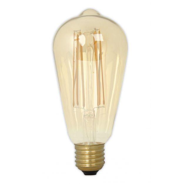 Vico druppel filament LED lamp dimbaar - E27 - 4W - 2100K (laatste stuk!)
