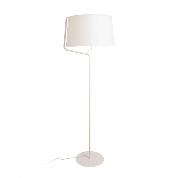 Maxlight Chicago - staanlamp - 155 cm - wit