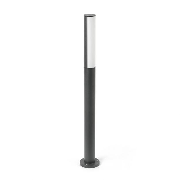 Faro Beret 2 - tuinpaal - Ø 6,5 x 90 cm - 8W LED incl. - IP54 - antraciet