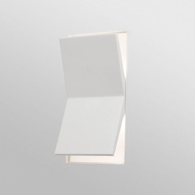 Faro Domino - inbouw wandverlichting - 26,5 x 16 cm - gips
