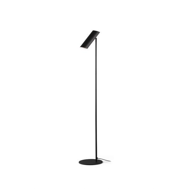 Faro Link - staande lamp - 110 x 20 x 5,6 cm - zwart