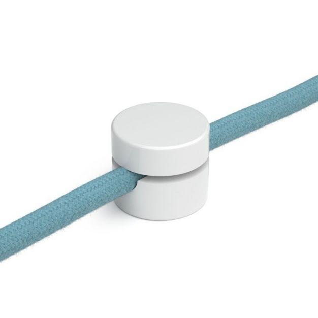 Creative Cables - plafond/wand snoerbevestiging - Ø 2,2 cm - wit