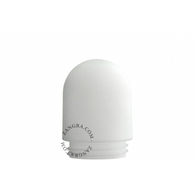 Zangra - lampenkap - Ø 9,5 cm - melkglas