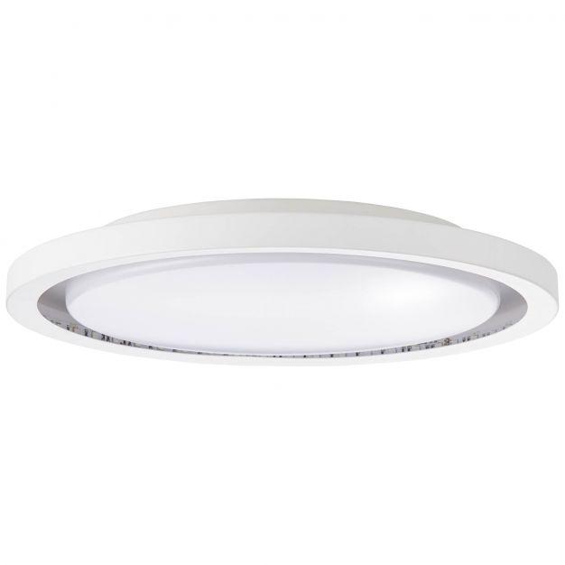 Brilliant Iona - plafond/wandverlichting RGB met afstandsbediening - Ø 36,5 x 5 cm - 18W dimbare LED incl. - wit