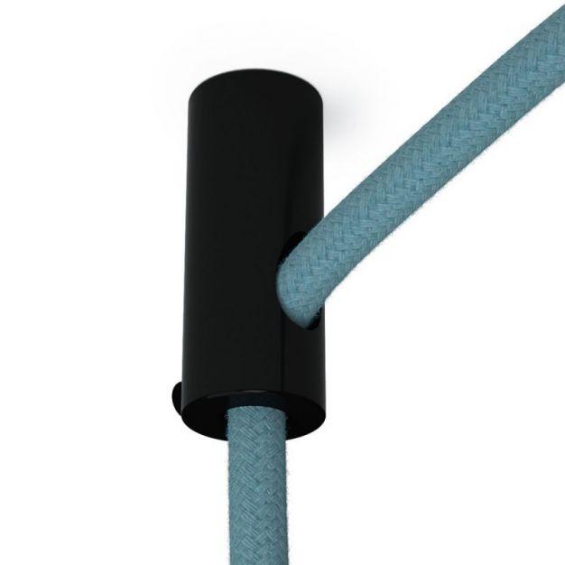 Creative Cables - decentralisatiepunt - Ø 2 x 4 cm - zwart