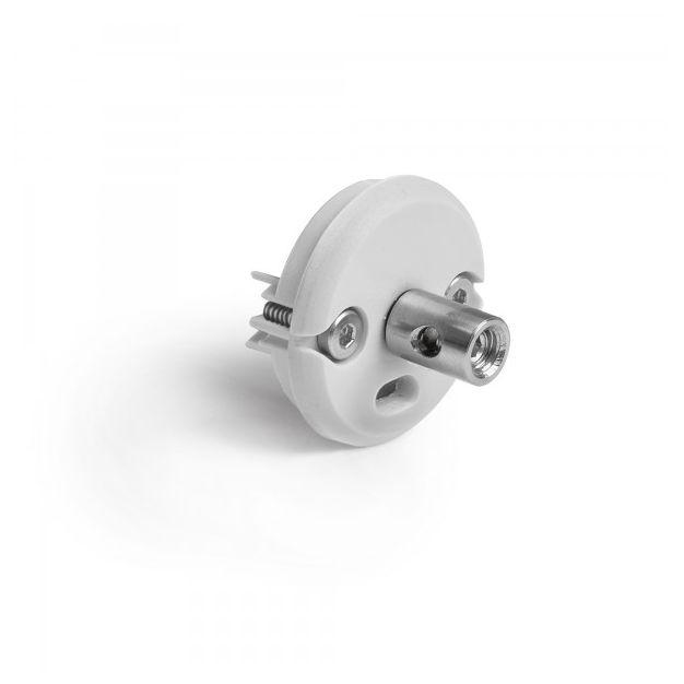 Klus JAZ Duo N OTW - eindkapje met bevestigingspunt voor tweeadigere kabel - grijs