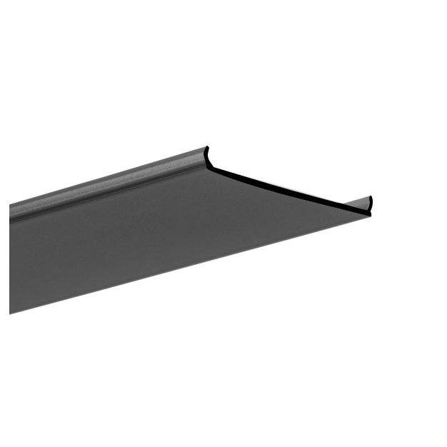 Klus Liger 50 - zwarte afdekkap - 200 cm lengte