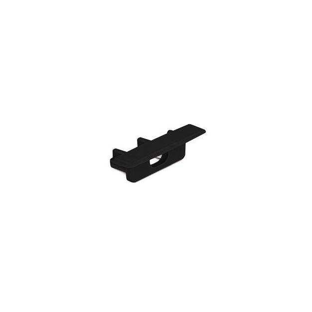 KLUS Micro-NK-OTW - open eindkapje - zwart